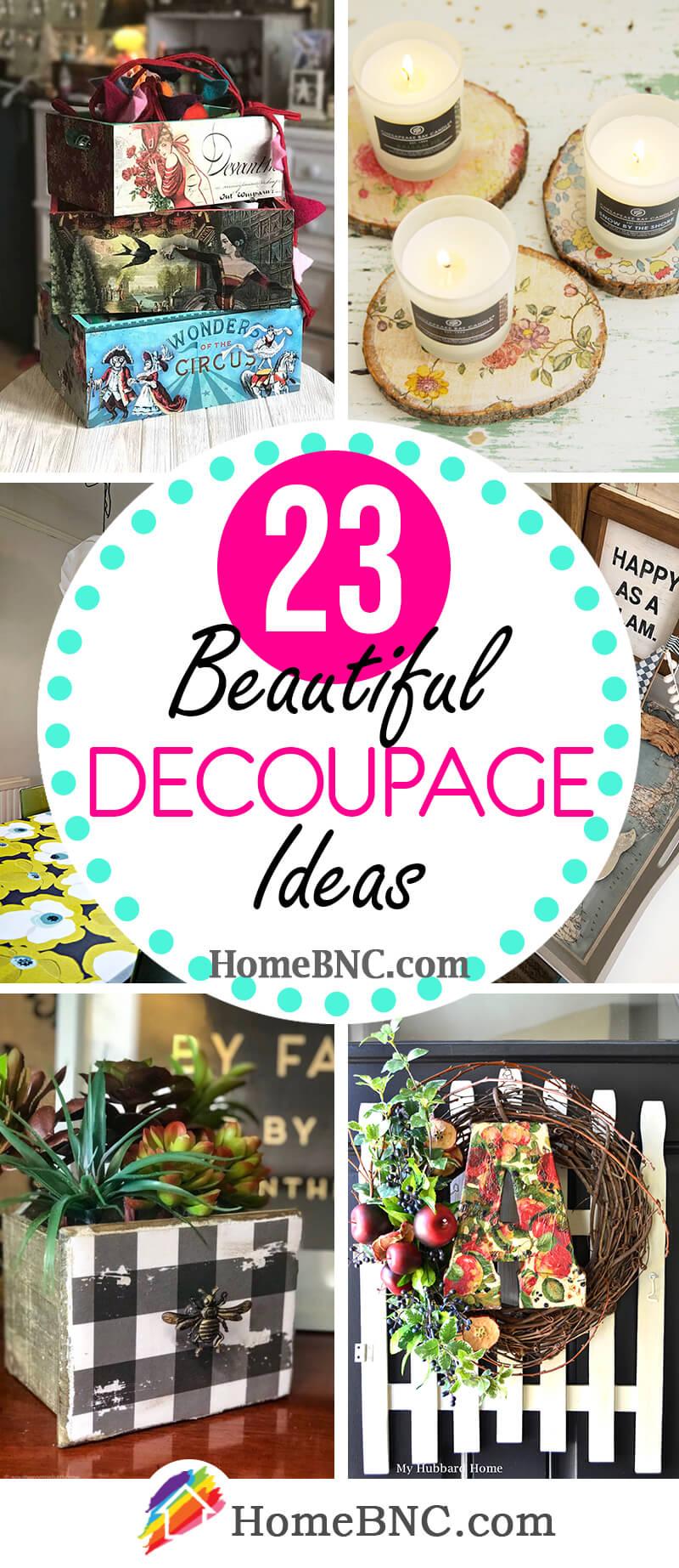Decoupage Ideas