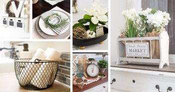Best DIY Dollar Store Rustic Home Decorations