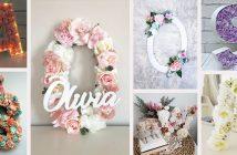 Floral Letter Ideas