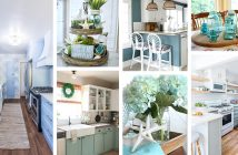 Light Blue Kitchen Designs and Decorations