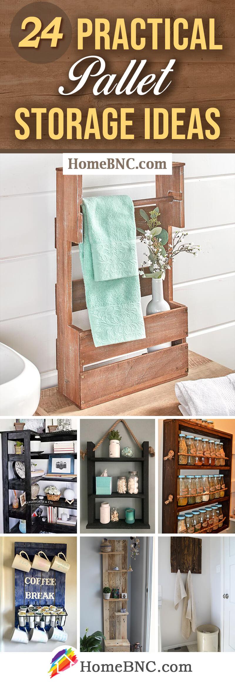 Best Pallet Storage Ideas