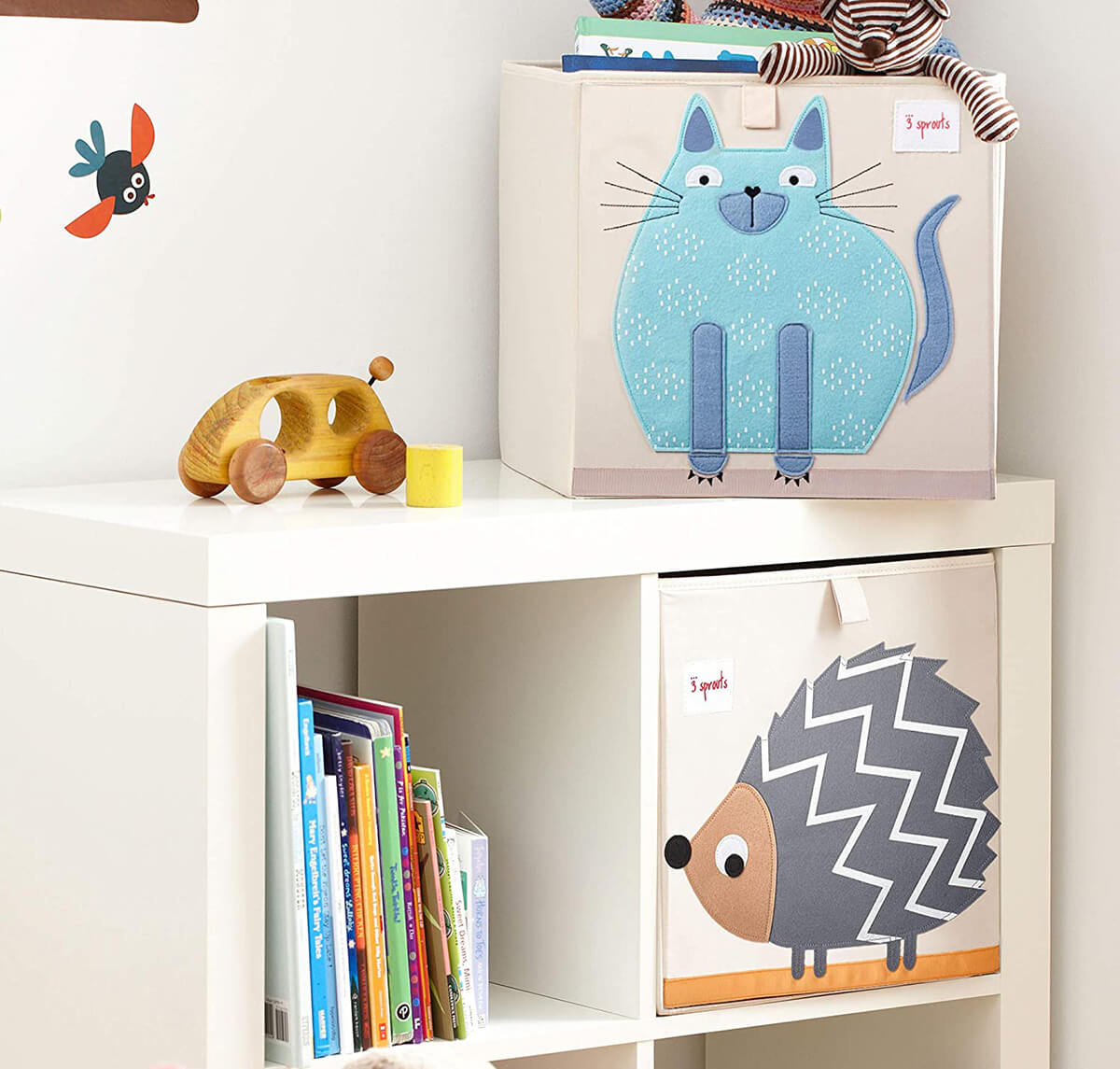 A Cute Cubed Storage Container for Kids