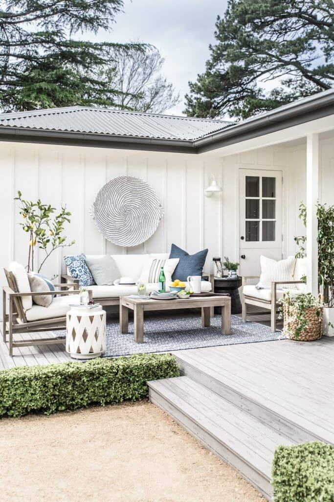 Unique Back Porch Living Room Utopia