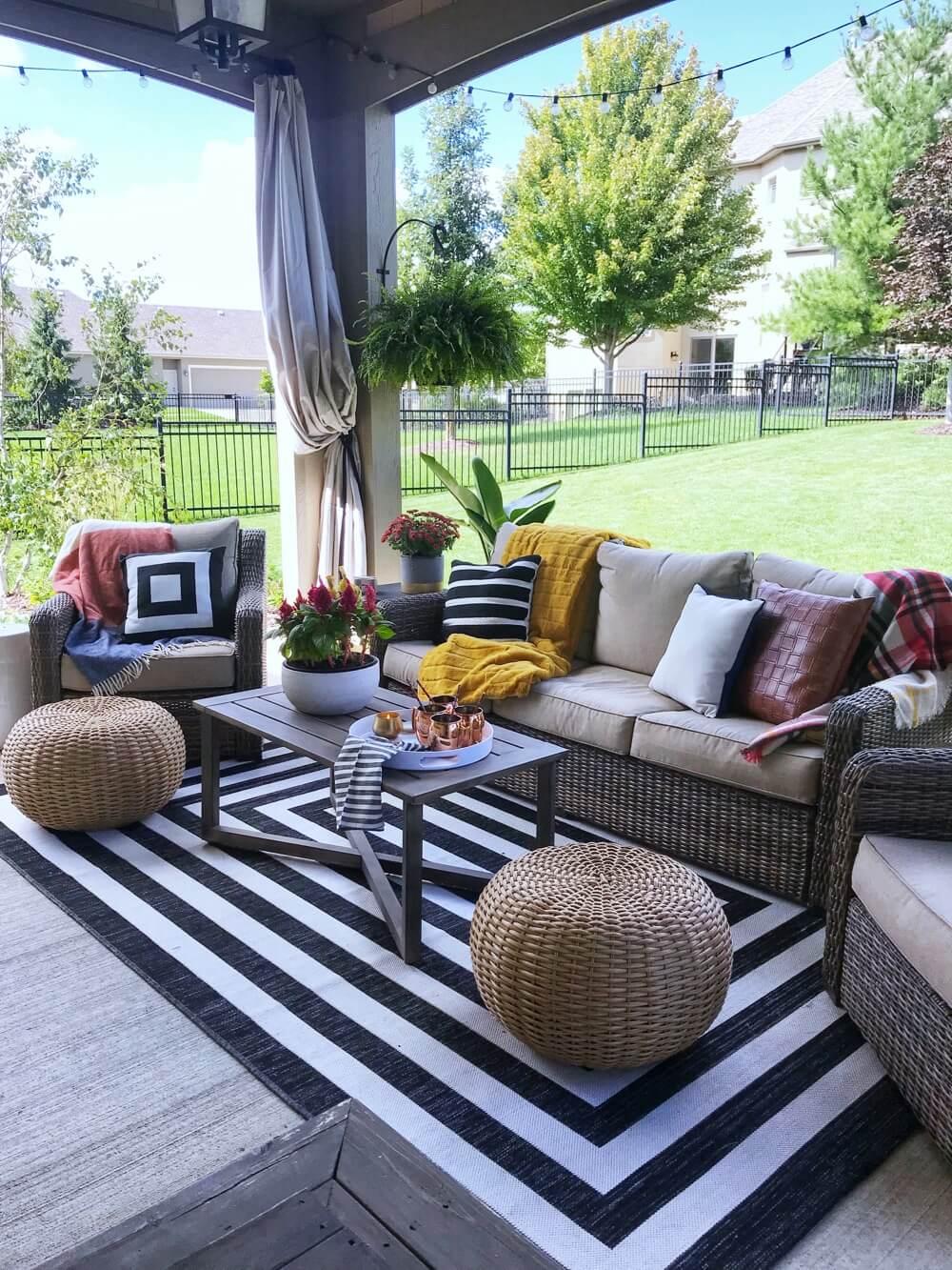 Cool Backyard Sitting Ideas Increase Deck Value
