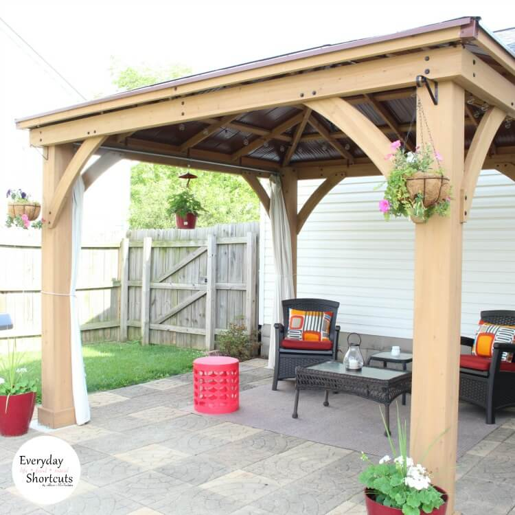 A No-Sew Solution for Your Patio