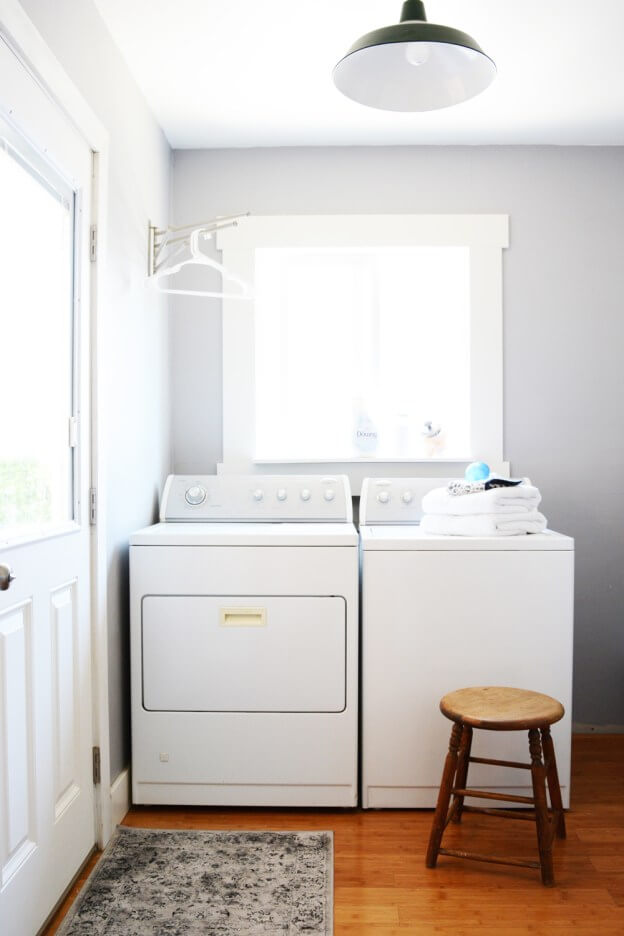 Simple Laundry Room Upgrade Plan