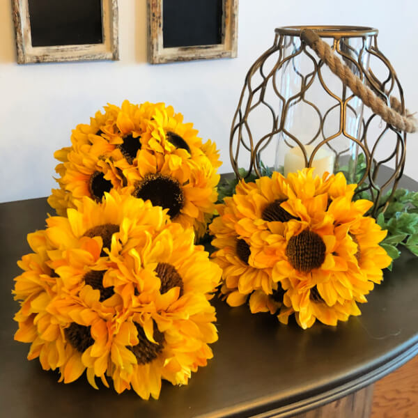 DIY Sunflower Rustic Summer Decor Ideas