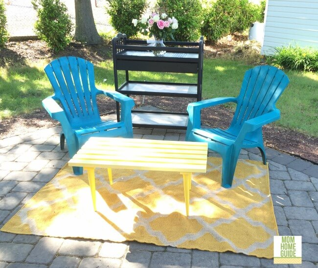 Upcycle an Old Outdoor Table
