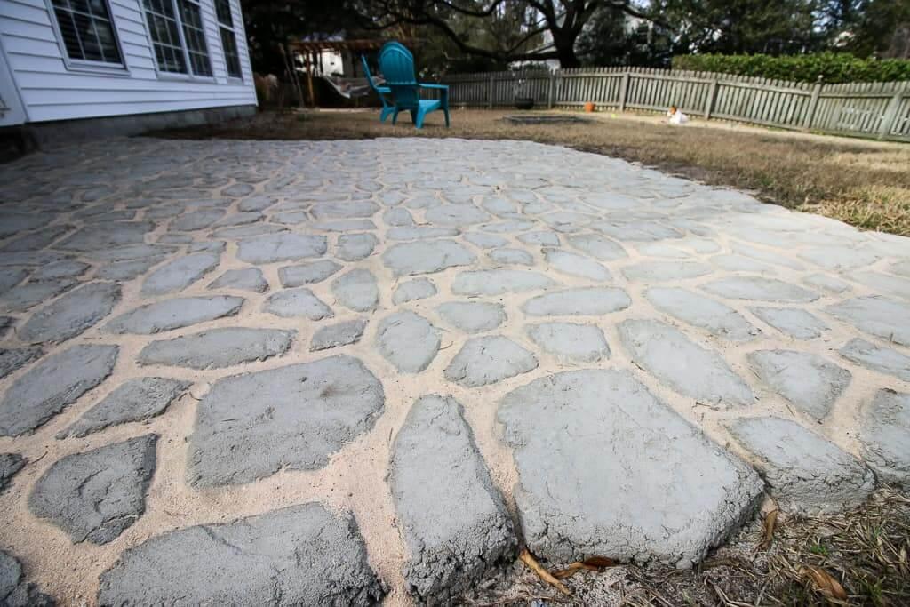 A Gorgeous WalkMaker Stone Patio DIY