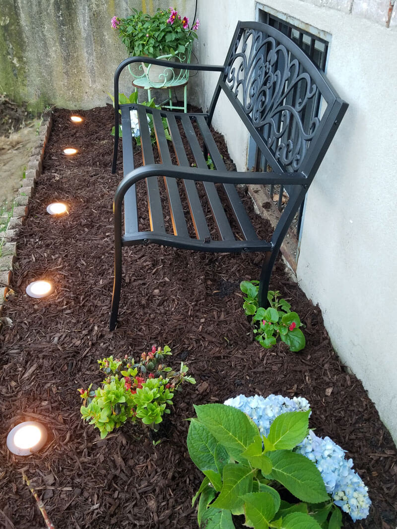 Ornate Bench is a Perfect Yard Enhancement