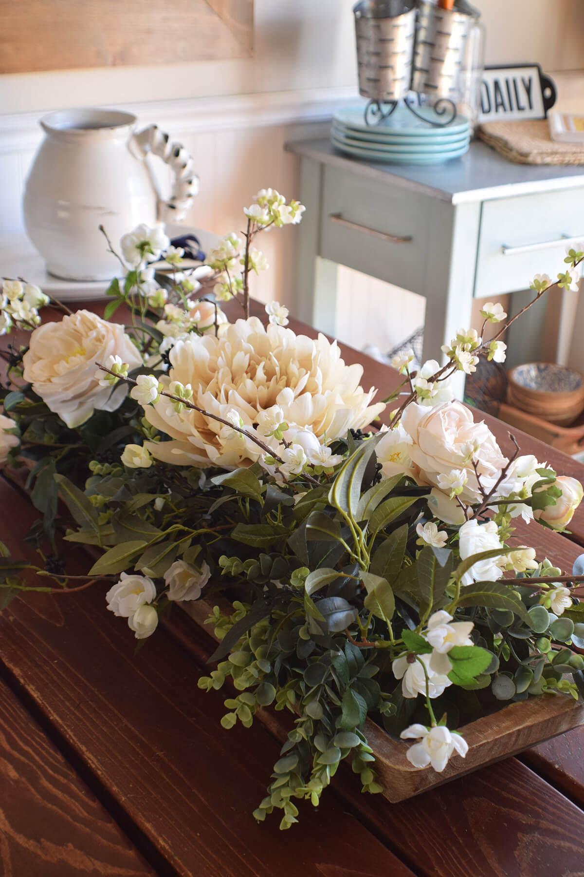 Best Rustic Home Decor Floral Centerpiece