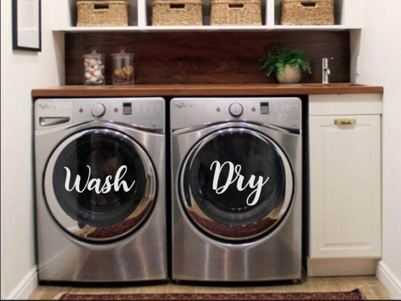 Wash and Dry Vinyl Decals