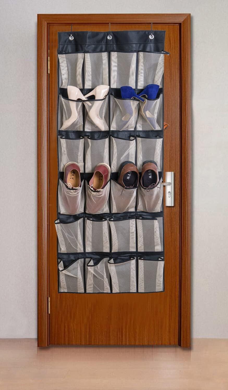 Hanging Door Organizer with 24 Pockets