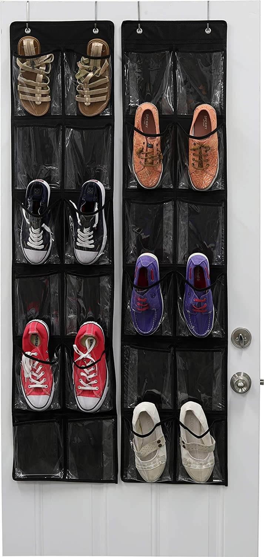 Slim Over-the-Door Shoe Hangers