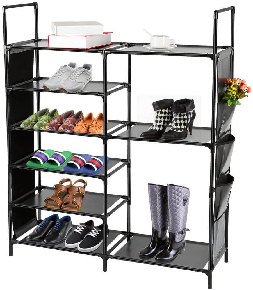 Large Multi-Compartment Organizer with Pockets