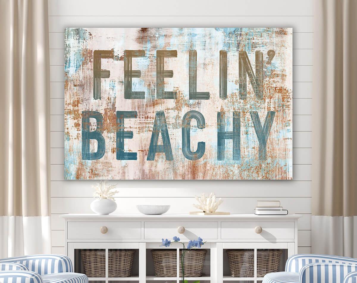 Rustic Feelin' Beachy Wall Art