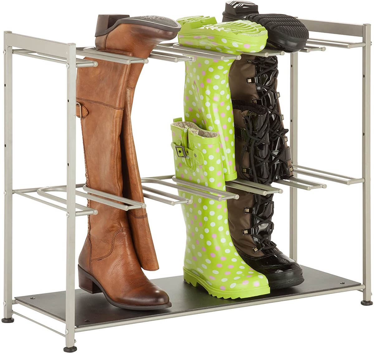 Sturdy Steel Tall Boot Rack