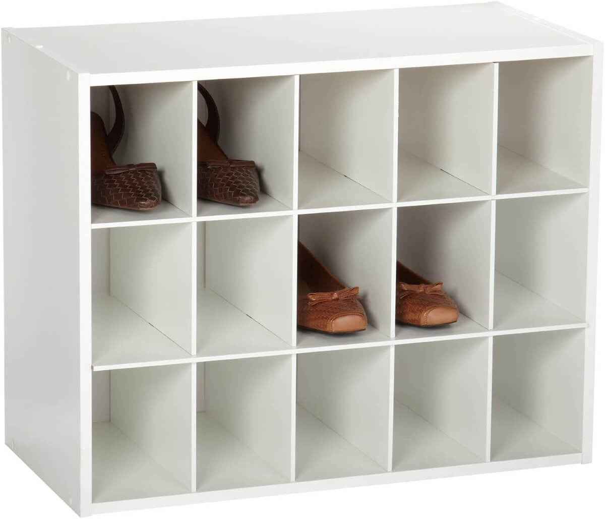 Classic White 15-Compartment Organizer