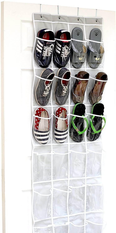 Hanging Door Shoe Rack for 36 Pairs