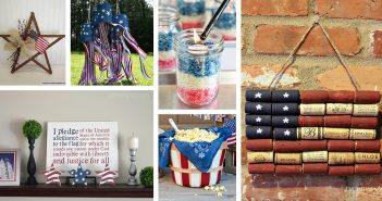 DIY Rustic 4th of July Decor Ideas