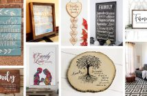 Best Family Quote Sign Ideas