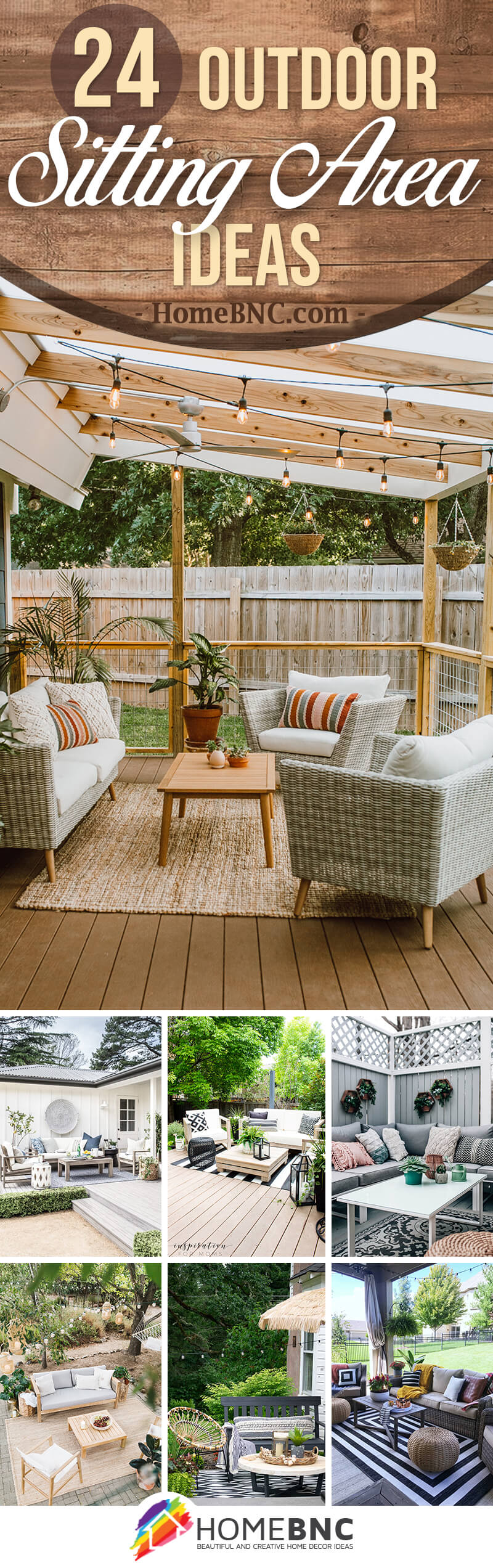 24 Best Outdoor Sitting Area Ideas To