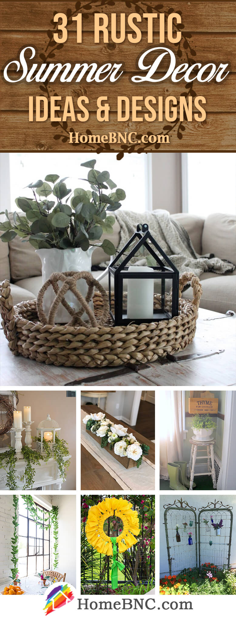 Best Rustic Home Decor Ideas for Summer