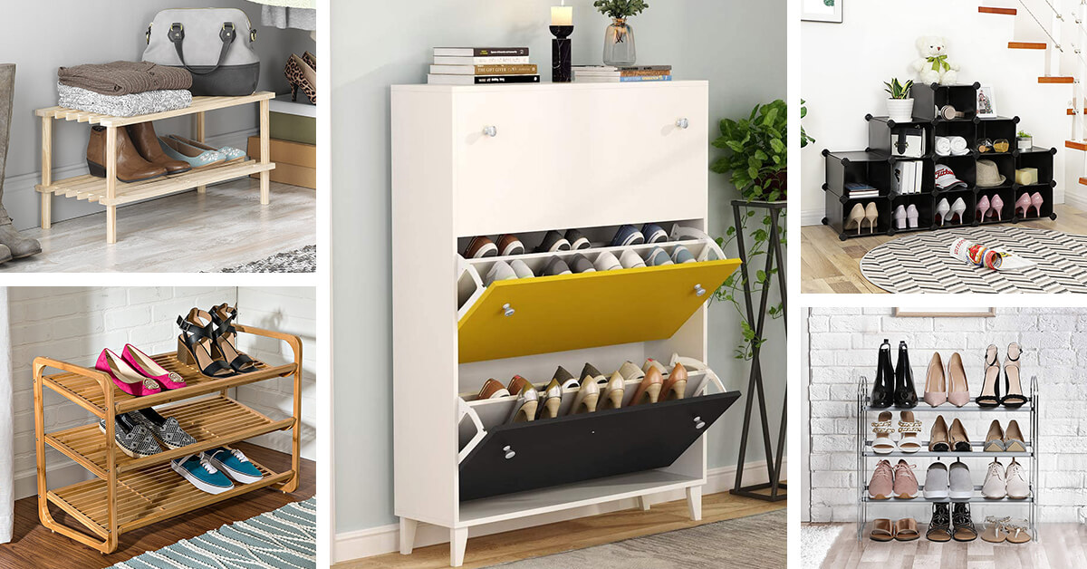 30 Best Shoe Organizers To Restore Order In Your Closet In 2020