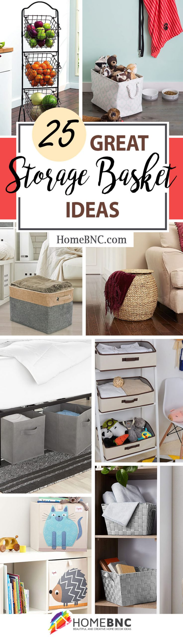 Best Storage Basket Ideas