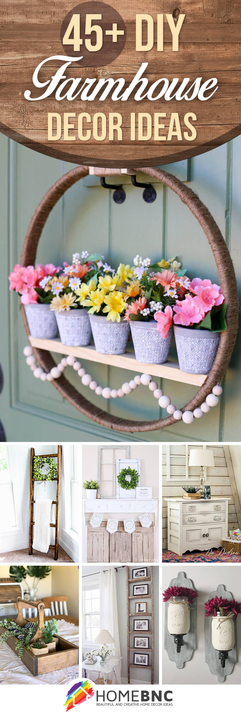 DIY Farmhouse Decorations