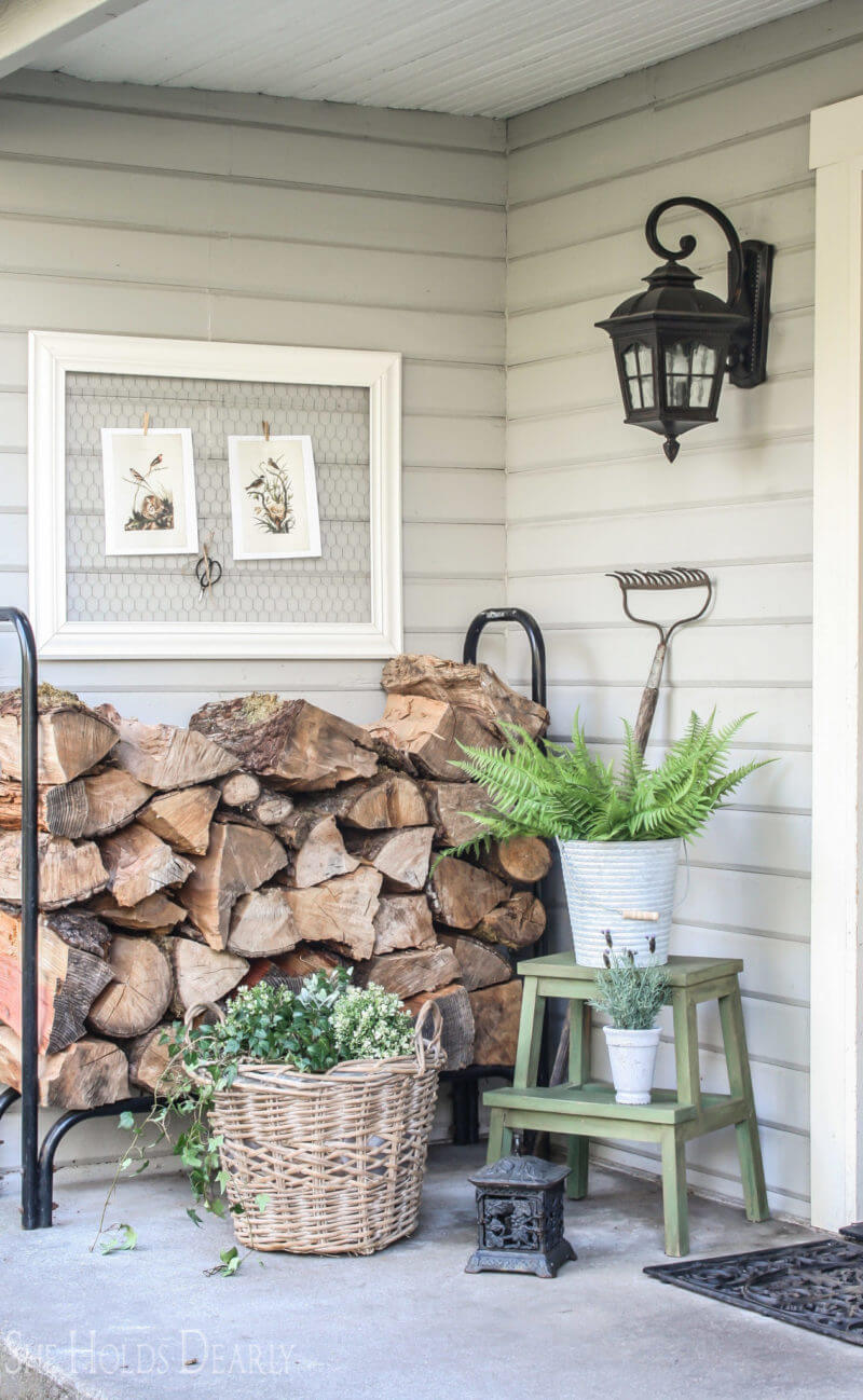 Front Porch Garden Shed Transformation