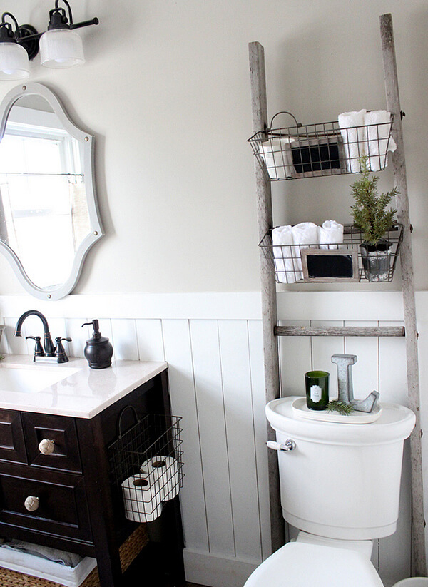Storage Baskets for Small Bathrooms