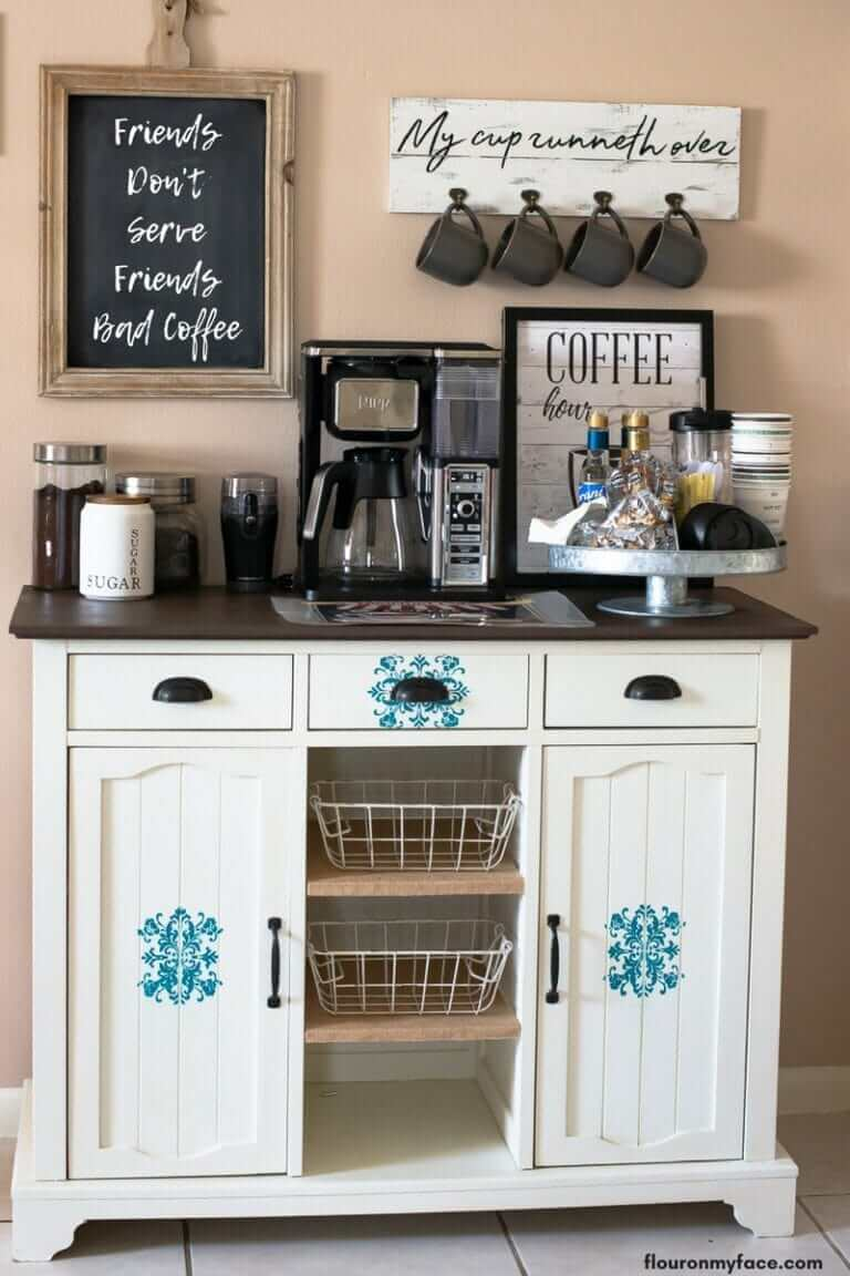 Quirky and Fun At-Home Coffee Hub