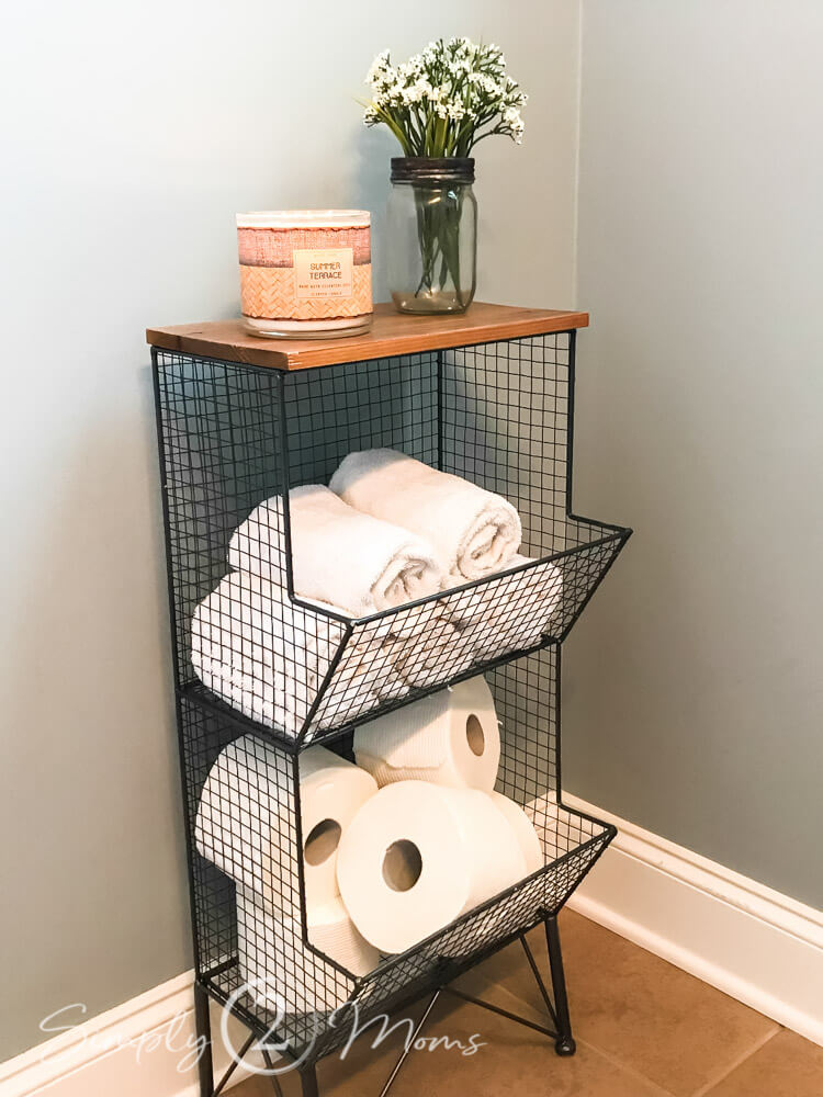 Easy Access Black Wire Storage and Shelves