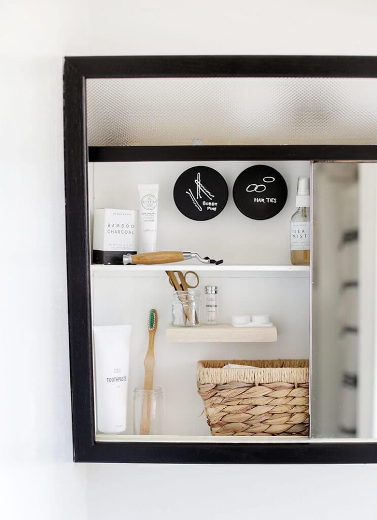 Simple Hidden Medicine Cabinet Storage