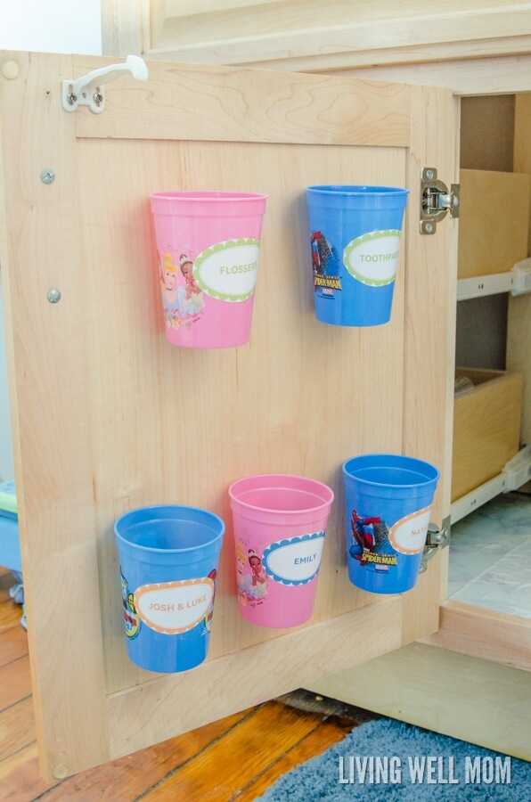 Easy-to-Access Hidden Storage and Organization for Children