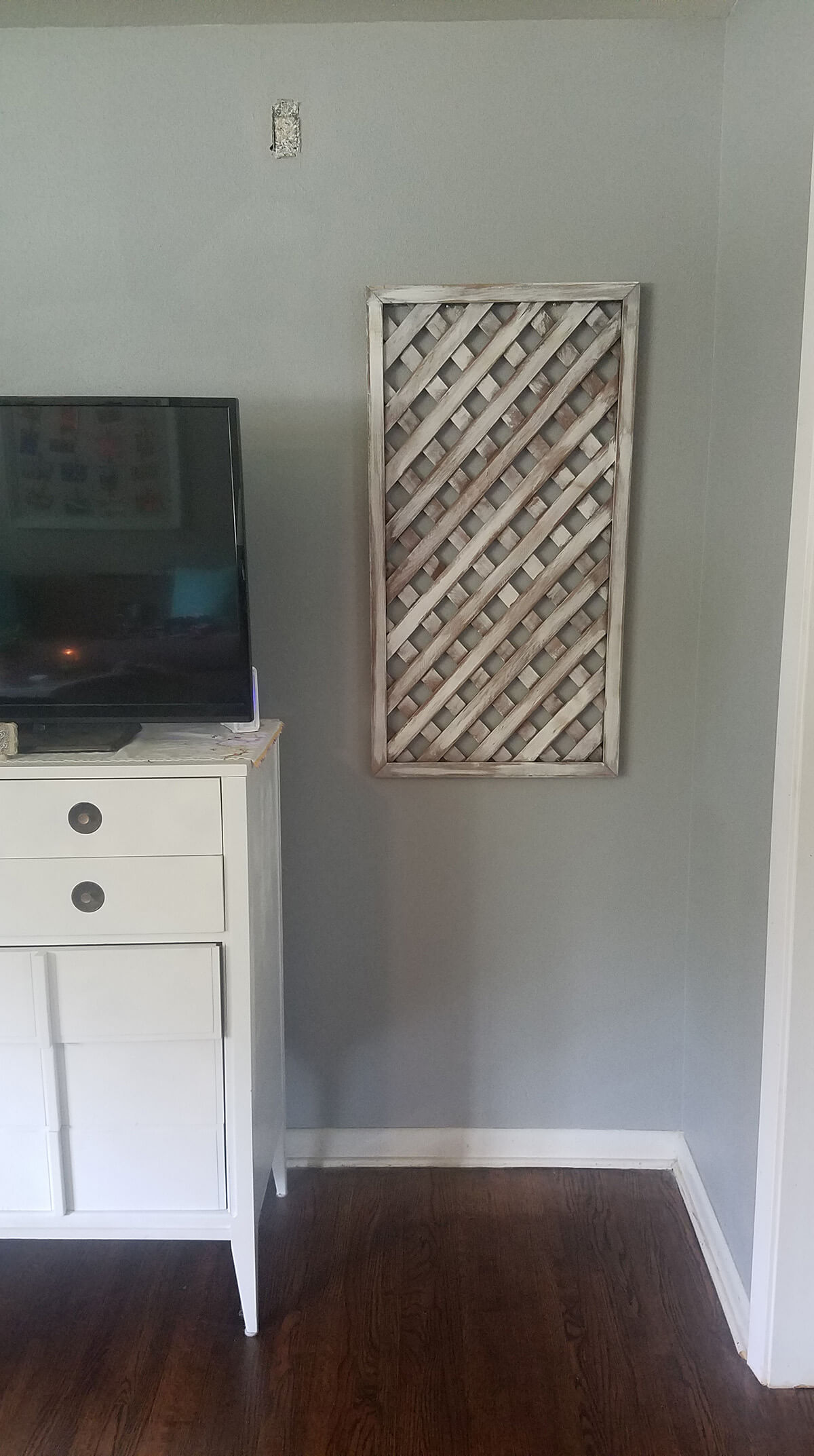 Rustic Salvaged Lattice Panels Décor