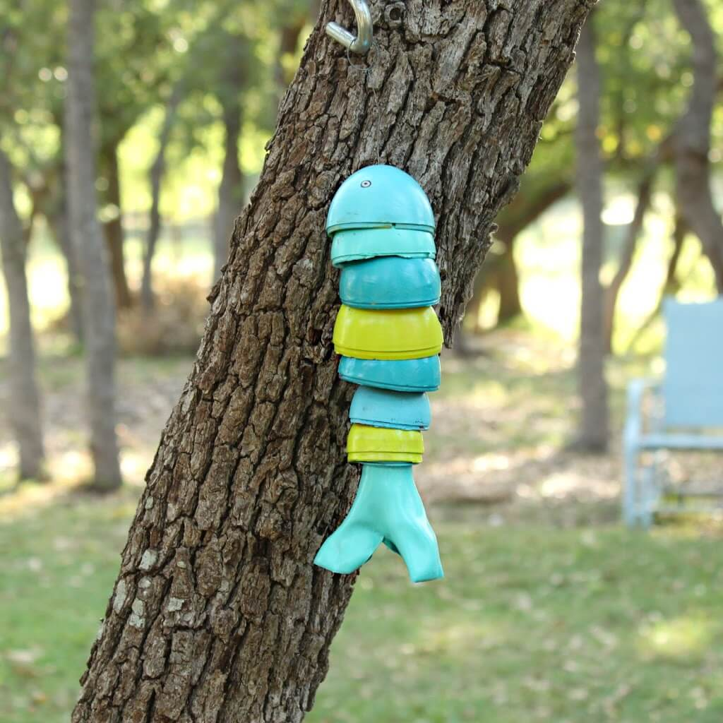 Something's Fishy Around this Homemade Wind Chime