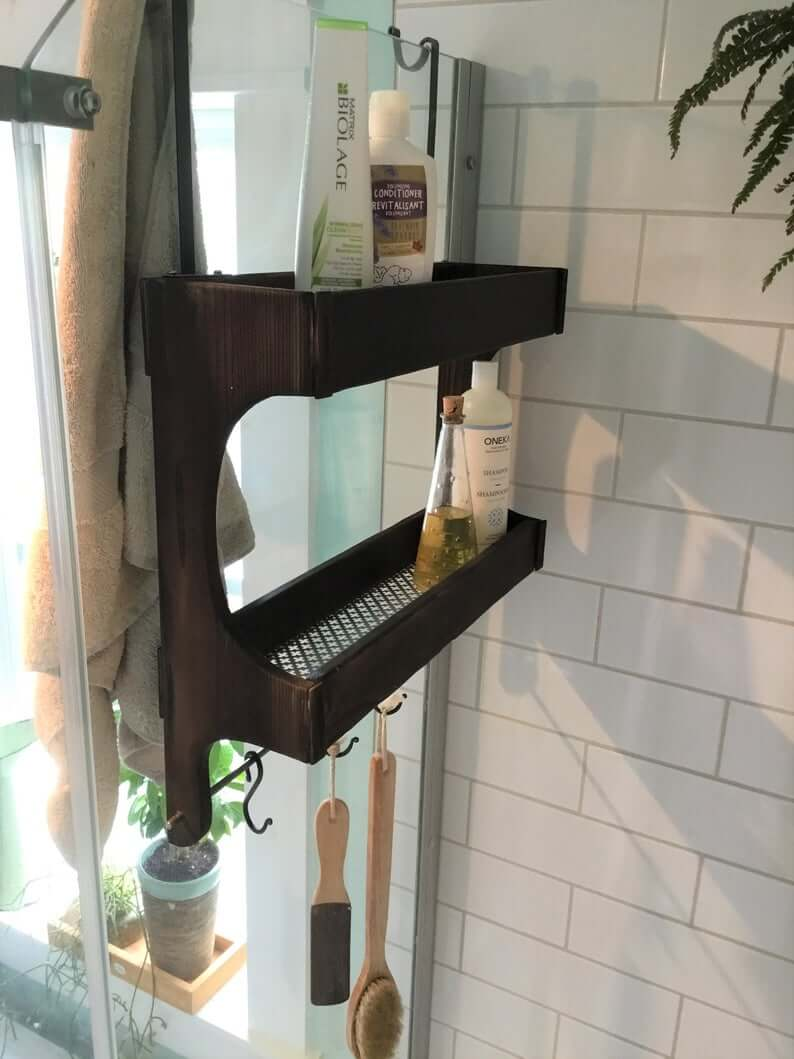 Easy Access Shower Storage Caddy
