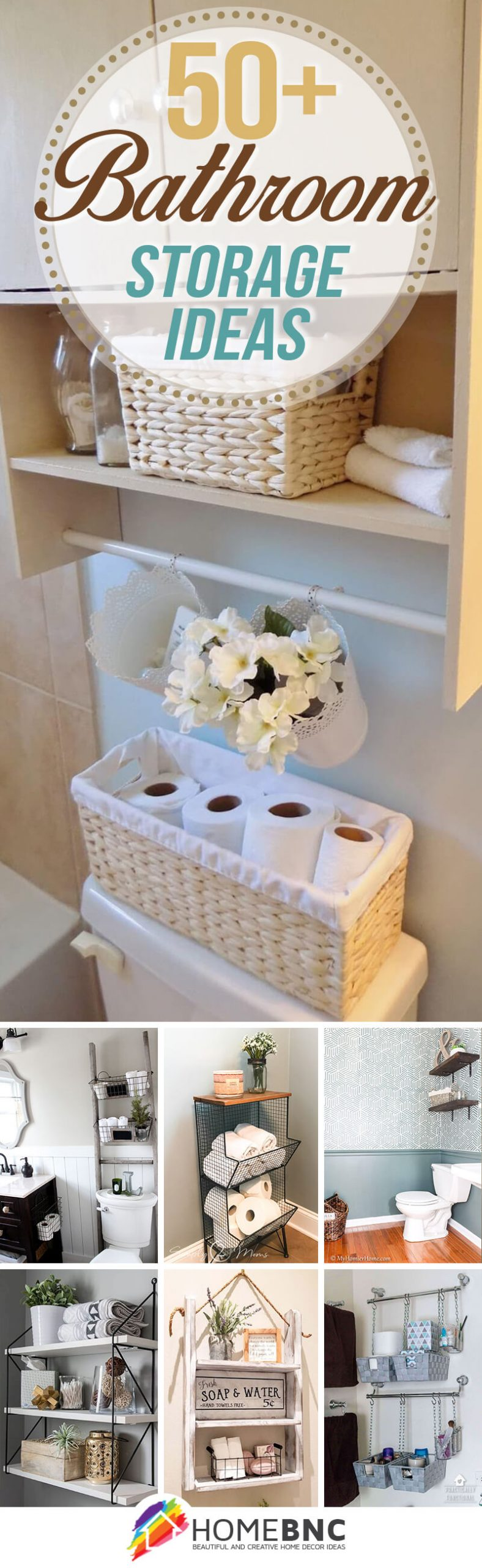 50 Best Bathroom Storage Ideas And Designs For 2021
