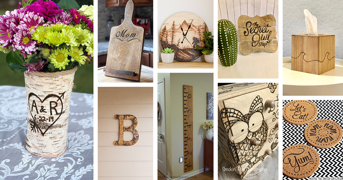 28 Best Diy Wood Burning Ideas To Add Rustic Charm In 2020
