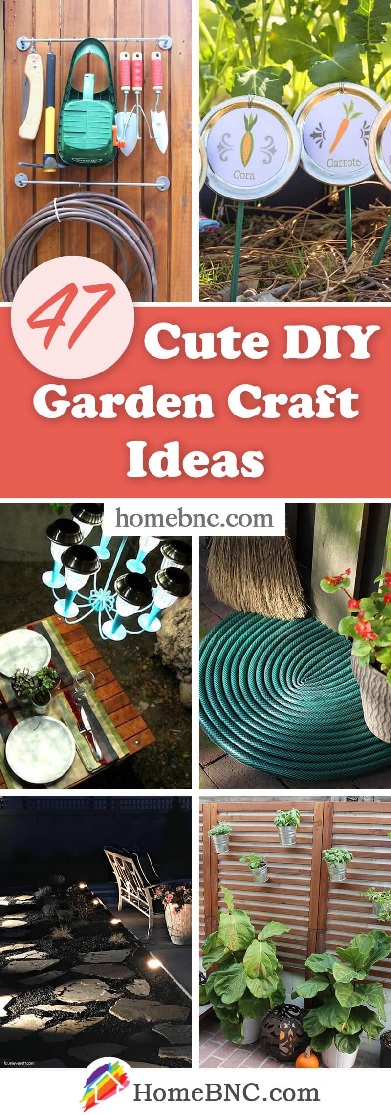 47 Best Diy Garden Crafts Ideas And Designs For 2021