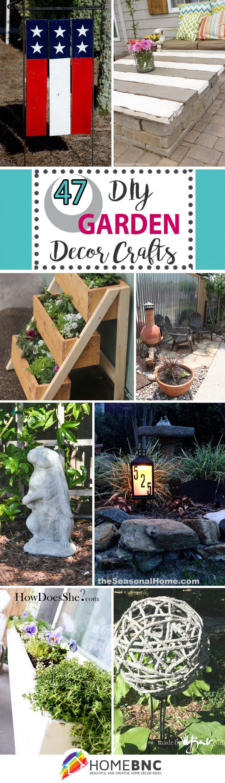 7 Best DIY Garden Crafts (Ideas and Designs) for 7