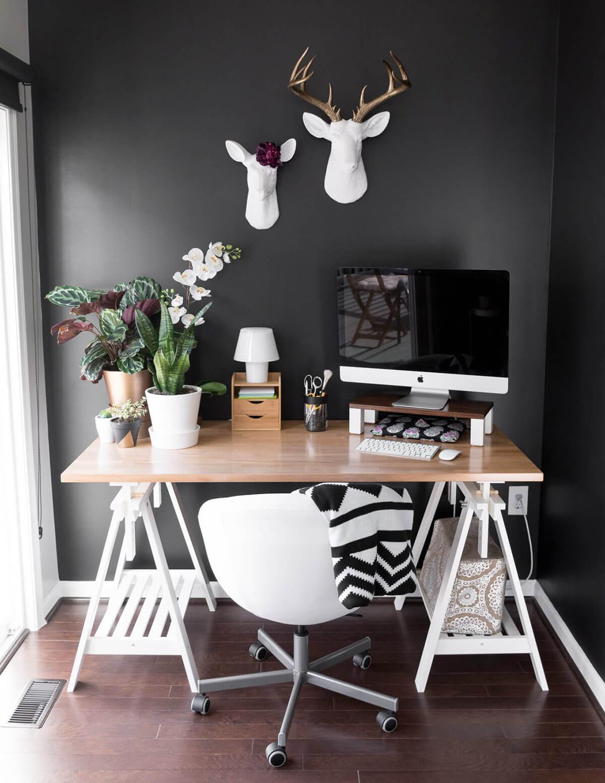 21 Fabelhafte und funktionale Bauernhausideen für Ihr Home Office