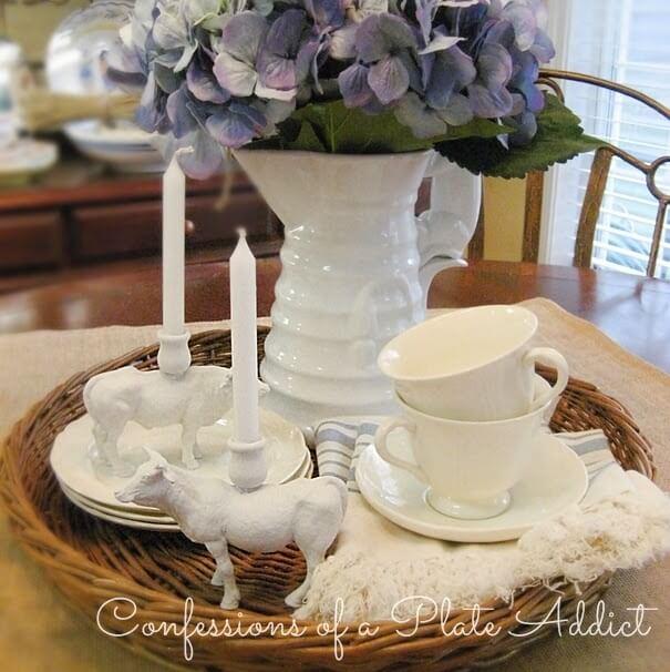 DIY Farmhouse Style Candle Holders