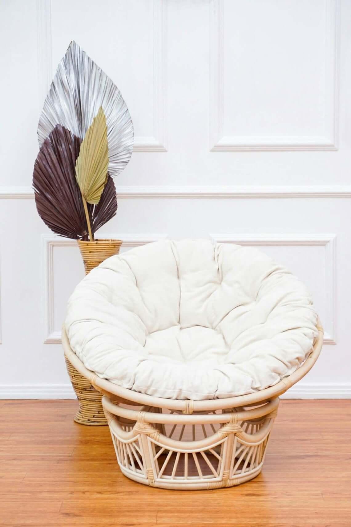 Beautiful Rattan Kids Lounge Chair