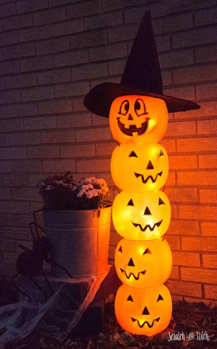 Go for Stack O' Lanterns Instead of Jack O' Lanterns