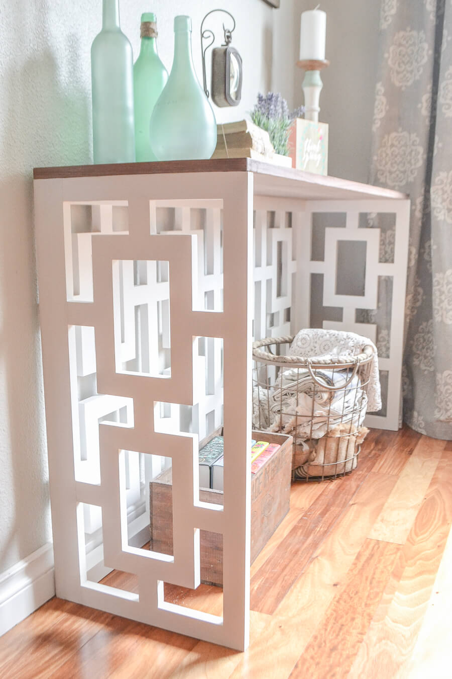 Stunning Fretwork Console or Side Table