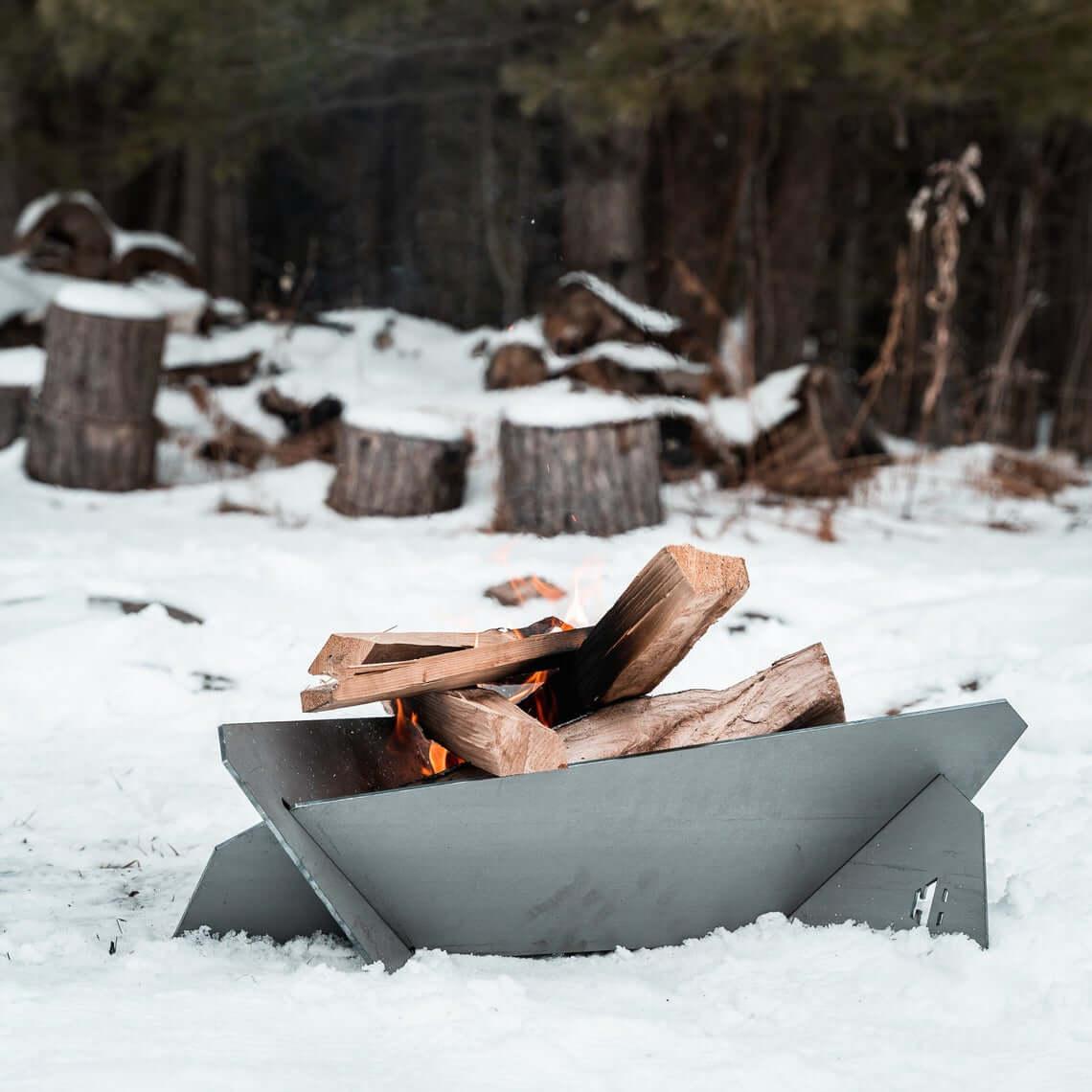Versatile Hot Rolled Steel Fire Pit
