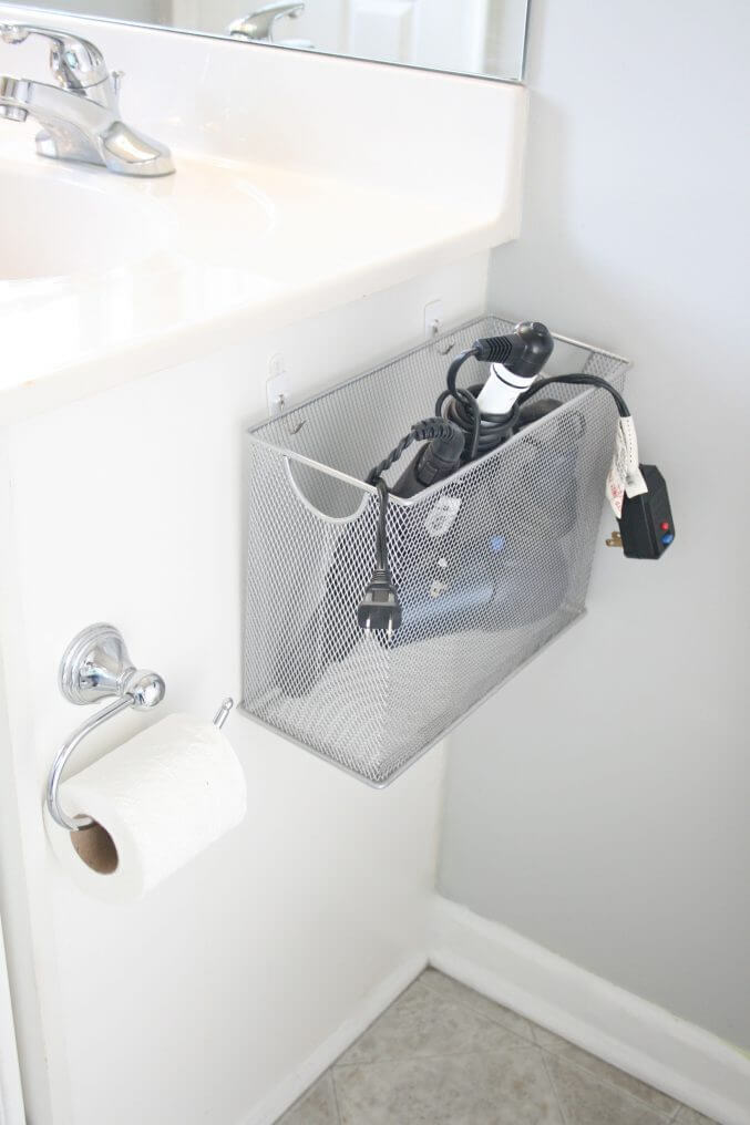 Wire Mesh Basket for Side of Sink